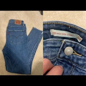 Levi's - High Rise Skinny Ankle